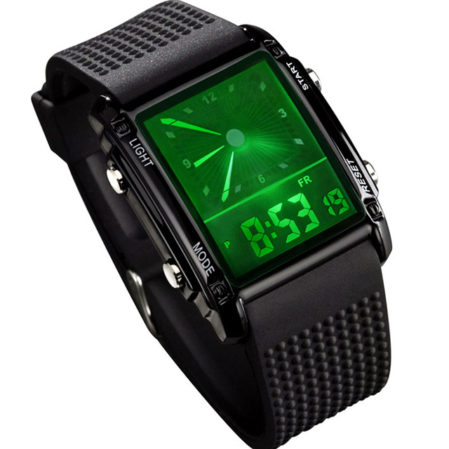 Watch trend sports watch fashion male waterproof watch mens watch