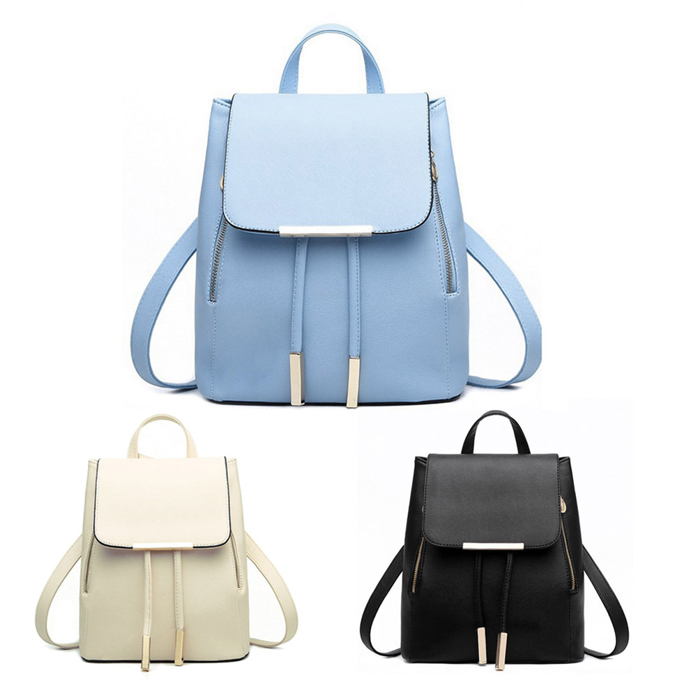 e981573a9d ... schoolbag Suppliers  Fashion Women Backpack Casual Leather School  Backpack for Teenage Girl Schoolbag Travel Bag Campus Women Bag School  Shoulder Bag