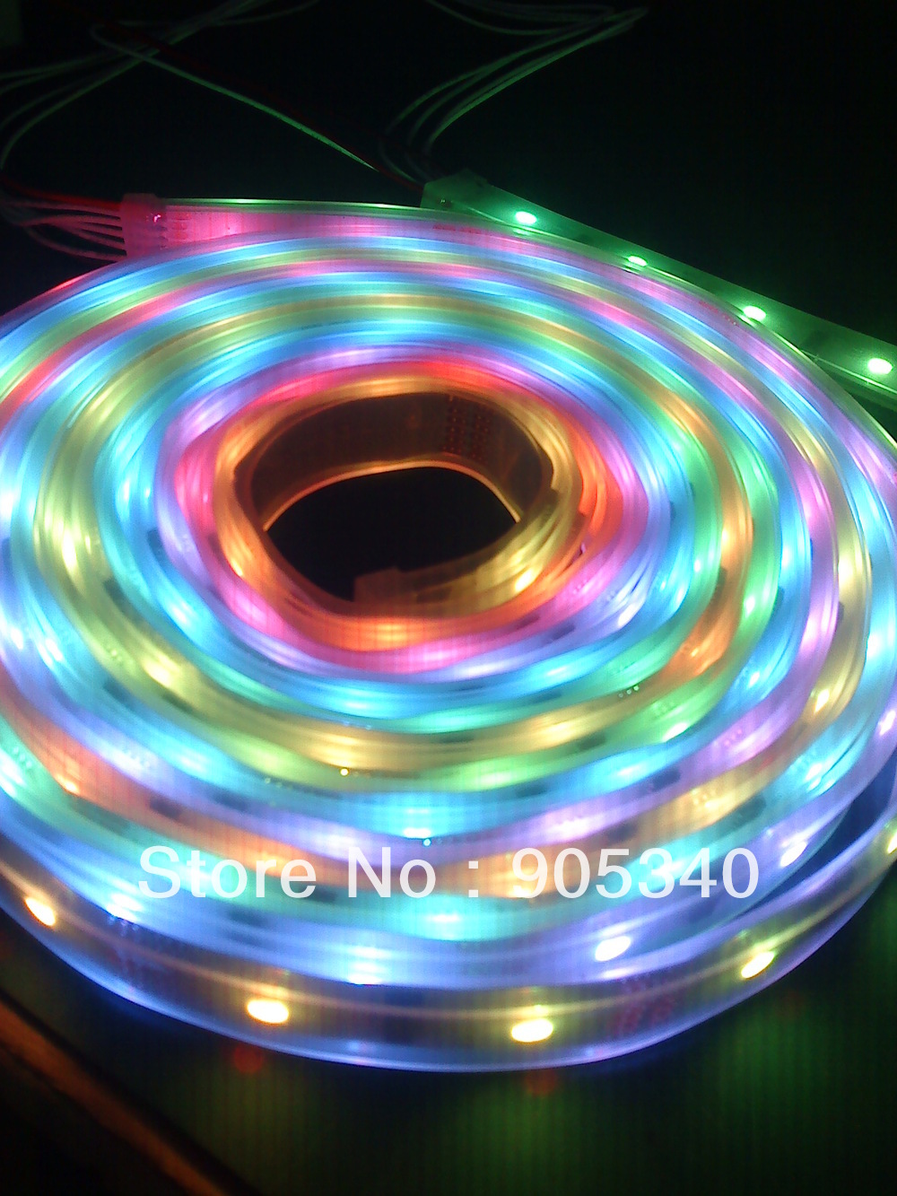 Magic led strip 5m 6803 IC 5050 digital RGB Strip,150LED IP67 silicon tube waterproof dream color 12V Led Strip,30LED/m,CE.ROHS(China (Mainland))