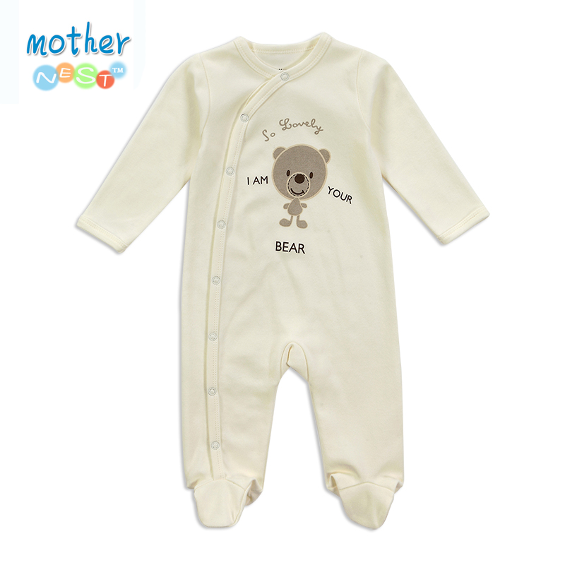 Newborn Baby Rompers Baby Clothing Set Fashion Summer Cotton Infant Jumpsuit Long Sleeve Girl Boys Rompers Costumes Baby Romper(China (Mainland))