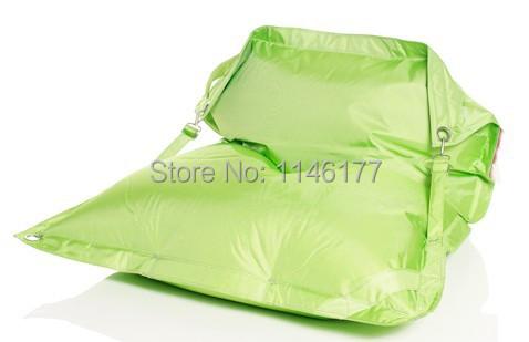 Фотография Ywxuege Free Shipping Green Living Room Furniture Adult Beanbags Chair, Outdoor Waterproof Bean Bag Sofa Wholesale