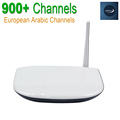 Europe Arabic French IPTV Channels included Android TV Box Q1304 Support Sport Canal Plus French Sky