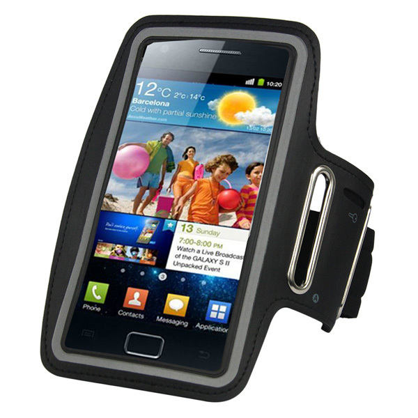 Premium Running Cycling Outdoor Sports Bag Gym Armband Case Pouch Cover Arm Band for Samsung Galaxy S2 SII i9100