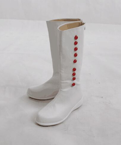 Mary Poppins Cosplay Shoes White Boots - Manlu Cos Store store