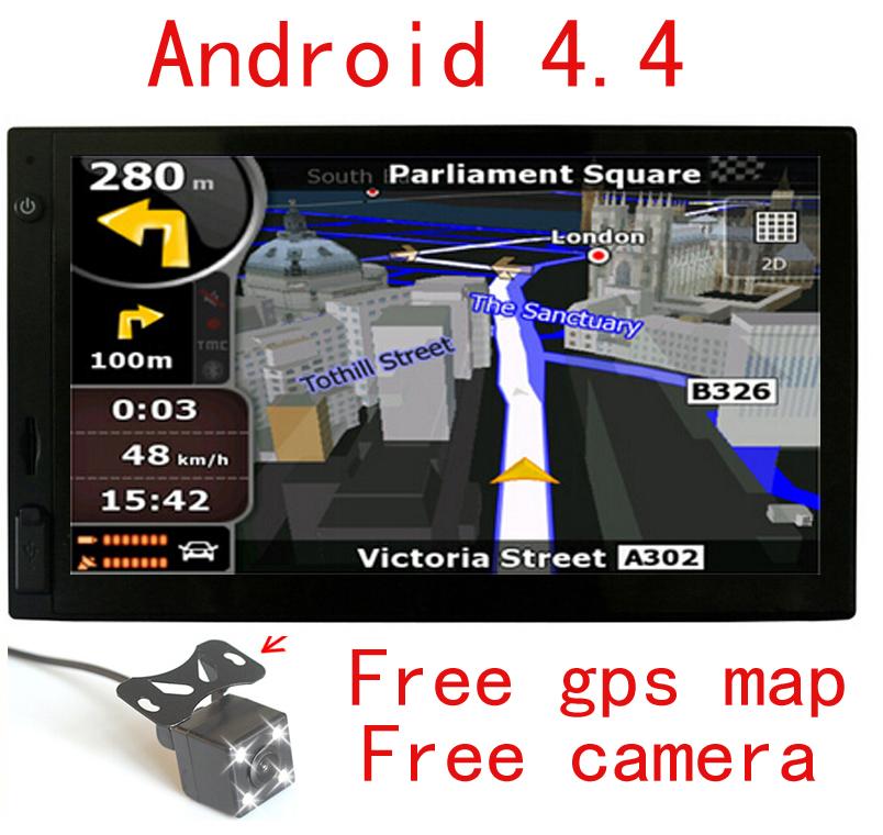 android car gps navigation 7 inch wifi gps navigator tablet GPS Navigator WIFI bluetooth Camera HD(China (Mainland))