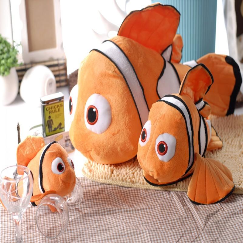23CM Stuffed Dolls Finding Nemo Plush Toys Small Clownfish Nemo Soft Dolls Promotional Price In Stock P125(China (Mainland))