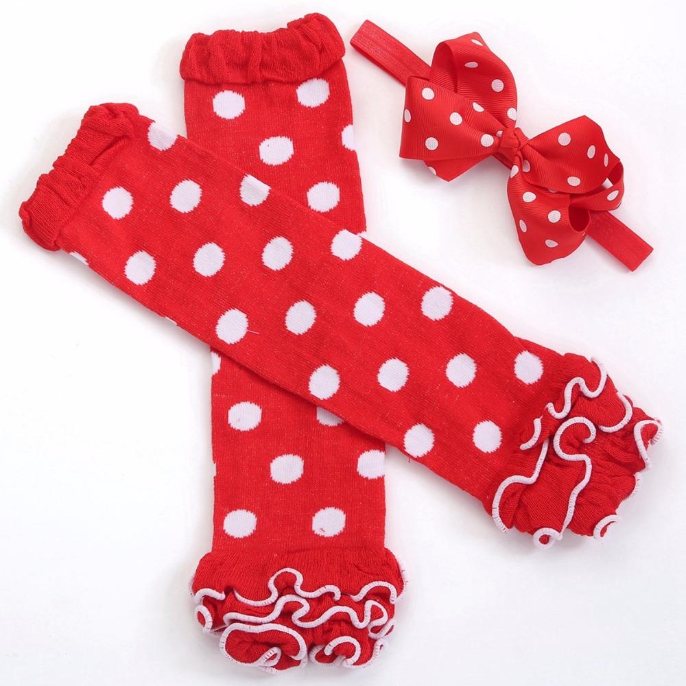 children's tights and legging;kid toddler girls baby leg warmers ruffle headband set;knee girl stockings winter knitted ,#A0017