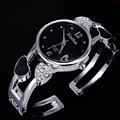 heart shaped bracelet watch women watches fashion rhinestone women s watches ladies watch clock women bayan