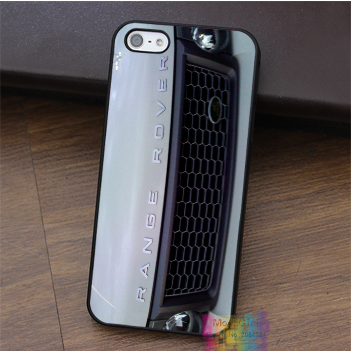 for White Range Rover Grill Cool Car fashion cell phone case for iphone 4 4s 5 5s 5c SE 6 6s 6 plus 6s plus 7 7 plus #LI1081(China (Mainland))