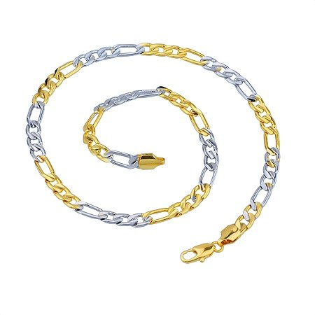 (440*4mm)Two Color Necklaces 2016 Made by Lead and Nickel Free Brass(China (Mainland))