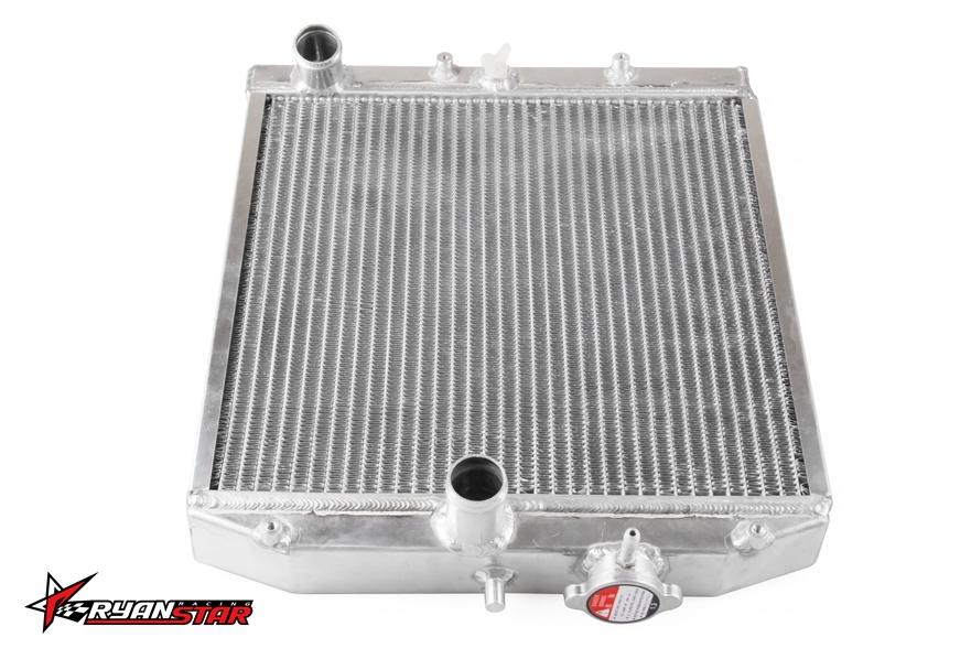 New arrive silver color 2 row 42MM Aluminum car Radiator for 92-00 Honda Civic MT EG/EK(China (Mainland))