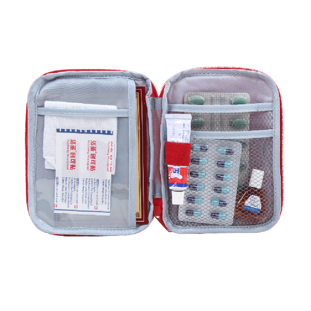 New Arrival Portable Safe Bag Emergency First Aid Kit Medical Outdoor Camping Survival Kits Professional Medical Urgent Package(China (Mainland))
