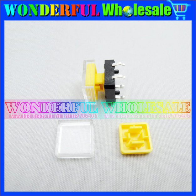Square Switch Cap Switch Button Cap 10*10*3