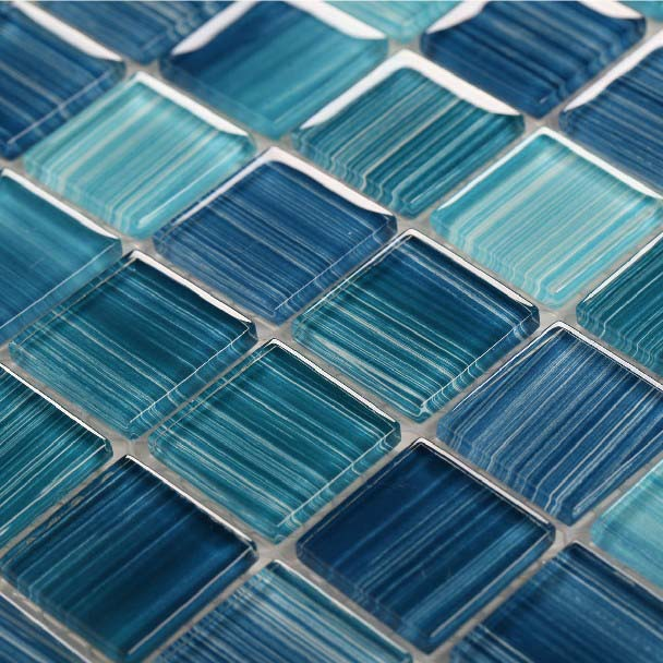 Hand Painted Kitchen Tiles: Glass Mosaic Tile Kitchen Backsplash Cheap Hand Painted