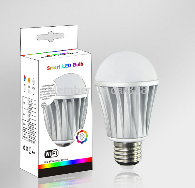 Здесь можно купить  2015 hot sell LED wifi bulbs smartphone wireless control china energy saving LED lighting  Свет и освещение