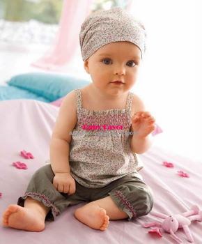 Free Shipping 3pcs New Kids Infants Toddler Baby Girls Headband+Top+Pants Shorts Floral Flower Outfit Sets Suit Clothes Clothing