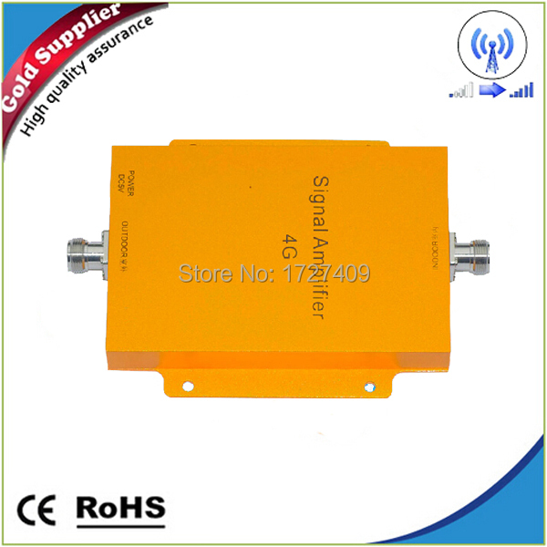 New 4G Tech ! LTE repeater 2600MHz Cell Phone Signal Booster 4G signal Amplifier 4G LTE 2600MHZ Booster free shipping(China (Mainland))