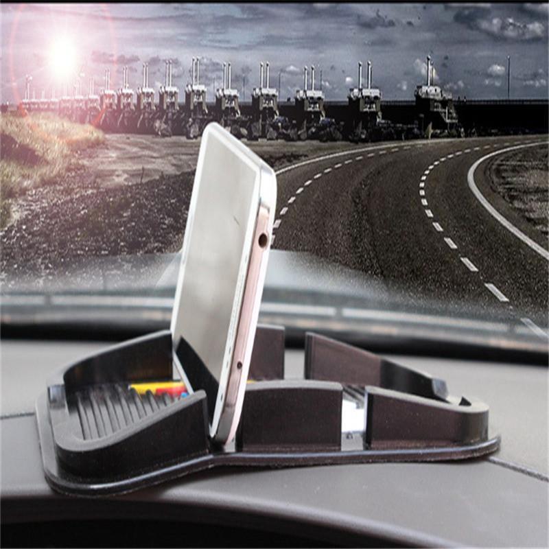 1pcs Black Useful For GPS Cell Phone MP4 5 PVC Car Anti Non Slip Mat Pad Skidproof Holder(China (Mainland))