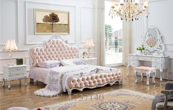 .com: Koop Barokke slaapkamer set koninklijke slaapkamer meubels ...