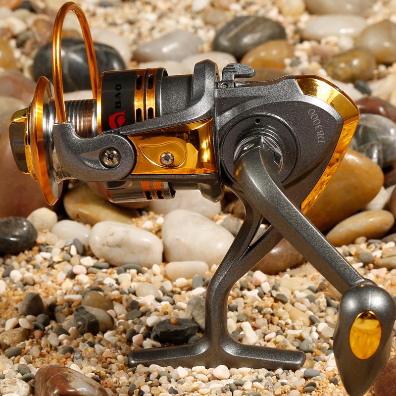 Like Daiwa DB3000 Fishing Reel Metal Head Interchangeable Rock Arm carretilha pesca Series Spinning Reel