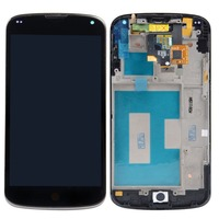 New LCD Display+Touch Digitizer+Frame Assembly Screen For LG Google Nexus 4 E960 VA233 T15