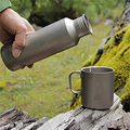 Keith 550ml Titanium Kettle Outdoor Camping Hiking Climbing Picnic Sport Water Bottle 115g Ti51 Bacteriostatic Function