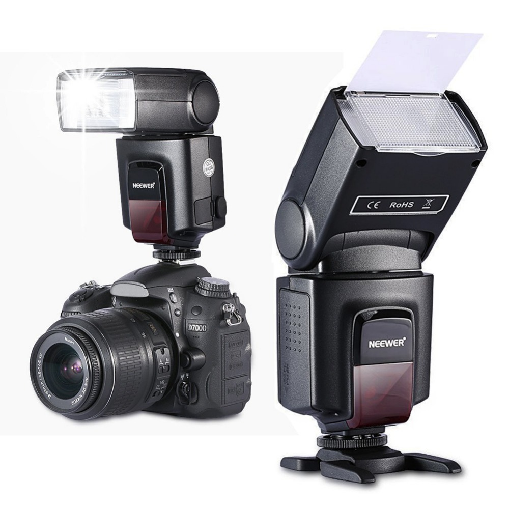 Neewer TT560 Camera Flash Speedlite for Canon 60D 760D 600D 700D Nikon D5300 D3300 Sony Panasonic Olympus Fujifilm DSLR Cameras(China (Mainland))