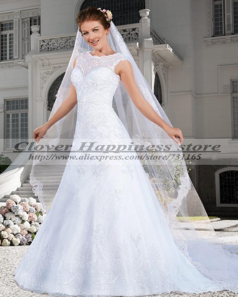 Vintage western wedding dresses for Western lace wedding dresses