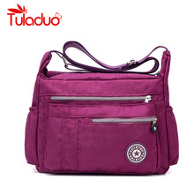 Women's Messenger Bags Ladies Nylon Handbag Travel Casual Original Bag Shoulder Female High Quality Large Capacity Crossbody Bag(China (Mainland))