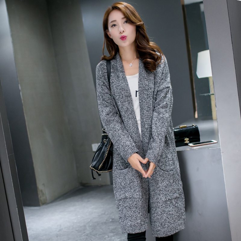 new large size women loose long sweater female cardigan sweater YF62Одежда и ак�е��уары<br><br><br>Aliexpress