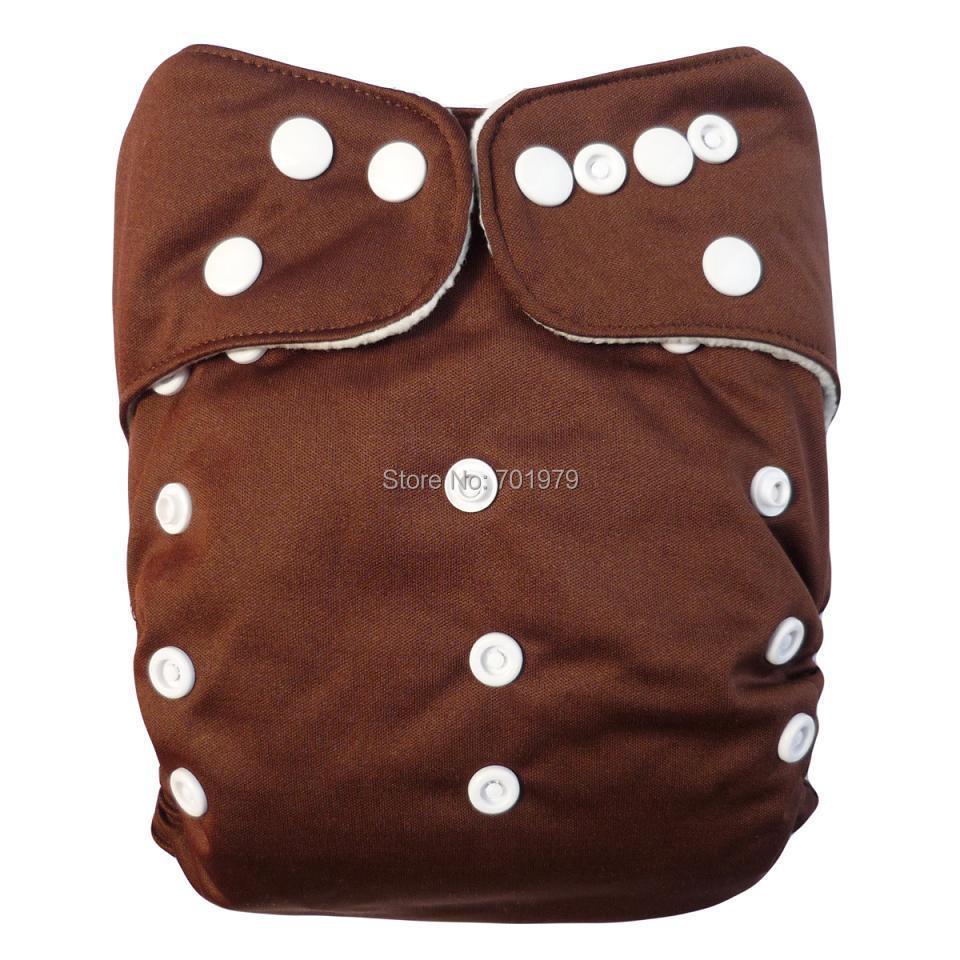 1000pcs ALVA baby cloth diaper with 1000pcs 3 layer microfiber inserts Free Shipping(China (Mainland))
