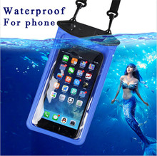 Buy Universal IPX8 Waterproof Phone Bag Blackview Bv7000 Pro A9 UMI Z PRO CUBOT Rainbow 2 Doogee Shoot 1 Y6 Piano Y6 Agate Y6C for $3.58 in AliExpress store