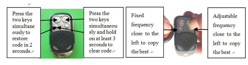 A002 Auto Pair Duplicate Car Keys & Remote Control-2