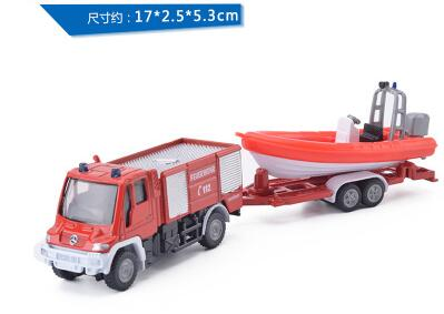 wholesale Germany Sequoia SIKU alloy engineering vehicle U400+ kayak children toy car model alloy for children gift(China (Mainland))