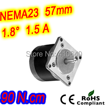 Round shape 10 pieces per lot step motor23HR30-1506S L 76 mm Nema 23 with 1.8 deg 1.5 A 90 N.cm and unipolar 6 lead wires(China (Mainland))