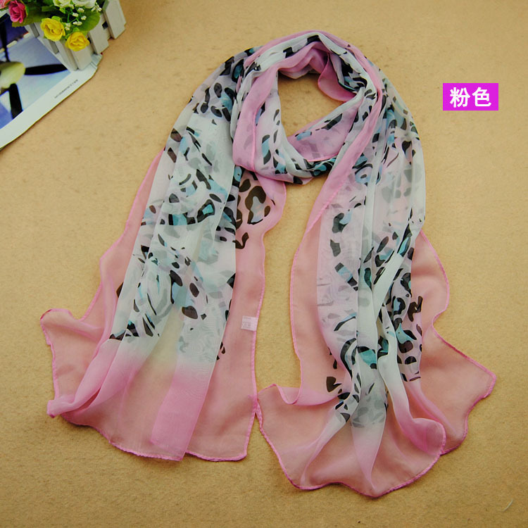 2015 Hot Selling New Design Wholesale Floral Ombre Printed Summer Autumn Women's Shawl wrap popular scarf/scarves 5pcs/lot(China (Mainland))