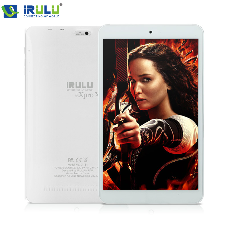 iRULU eXpro X1s 8'' Tablet Quad Core1GB/16GB Android 5.1 Tablet 1280*800 IPS Screen Ultra Slim Google Play HDMI Dual Camera 2MP(China (Mainland))