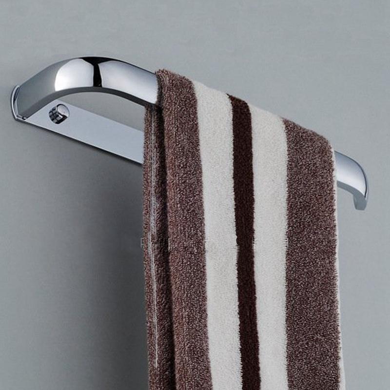 Высокое качество новой ванной настенные из нержавеющей стали кольца для полотенец вешалка для полотенец держатель одного уровня полотенце бар