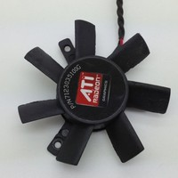 ATI original fan hd3450 hd5570 original blades  PLD05010S12HH quieten blades