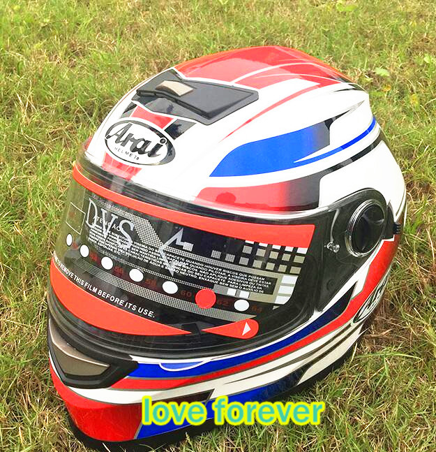 new style Cross country helmet double lens Motorcycle helmet Full face keep warm take off lining arai clear lens(China (Mainland))