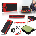 T Face 50800mAh Multi Functional Car Emergency Jump Starter Power Bank External Backup Battery Charger for