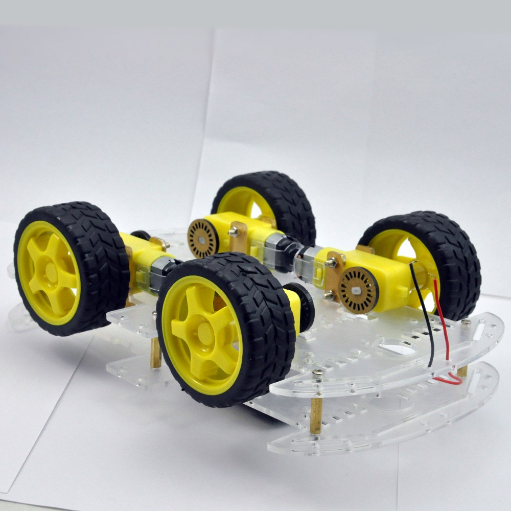Wd smart robot car chassis kits for arduino with speed