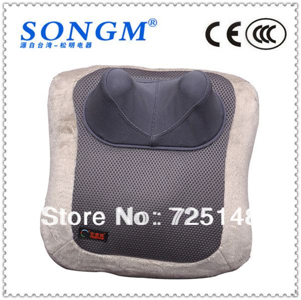 Free shipping heating and vibration AIRBAG car and home knee massager massage pillow massage cushion