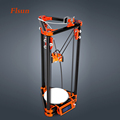 Aluminium Structure Delta 3d Printer With One Filament Heated Bed SD Card