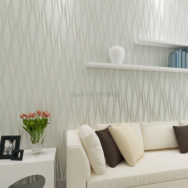Slaapkamer 3d behang for Papeles pintados modernos pared