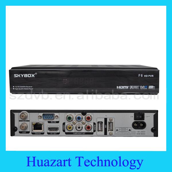 2014 SKYBOX F6 HD 2013 Newest Full HD 1080p PVR Latest Original Digital Satellite Receiver Support USB wifi Youtube Youpron IPTV