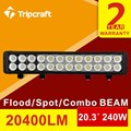 Hottest Type 20inch 240W Led Light Bar For Car ATV Offroad Light Bar Tractor Truck Lighting