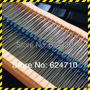 Резистор KKQ 1/4W 5% 62 R 100 0.25W +/5% 62 5% 1/4W 62R 1 5