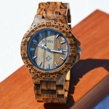 New!! wood watch BEWELL with gift box Quartz casual watches for man famous brand wood watch chrismas gift wood watch