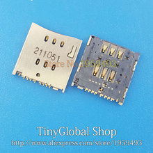 Original New Sim Card Reader Socket Contact Connector Holder replacement MEIZU MX M030 M031 M032 slot tray module - Tinyglobal shop store